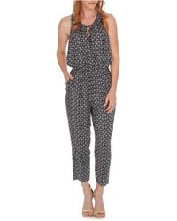 Lucky Brand - Printed Keyhole-back Jumpsuit - Lyst