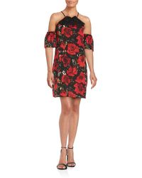 Anna Sui - Halterneck Drop Sleeved Dress - Lyst