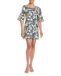 Anna Sui - Bell-sleeved Jacquard Dress - Lyst