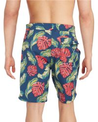 Brooks Brothers Red Fleece - Tropical Board Shorts - Lyst
