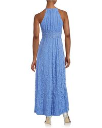 Maggy London - Damask Halter Gown - Lyst