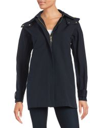 Vince Camuto - A-line Hooded Jacket - Lyst