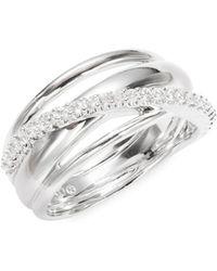 Nadri - Crystal Orbital Ring - Lyst