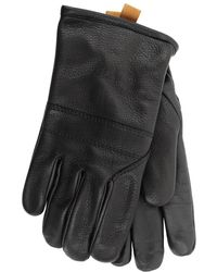 UGG - Cordovan Shearling And Leather Gloves - Lyst