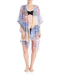 Sol & Mer | Taos Cover-up Kimono | Lyst