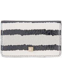 Lodis - Montserrat Boxed Snake Leather Mini Card Case - Lyst