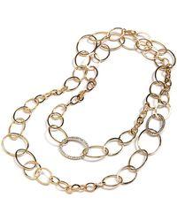 ABS By Allen Schwartz - Open Link Necklace - Lyst