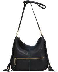 Sanctuary - Venice Boho Leather Crossbody Bag - Lyst