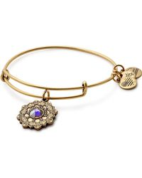 ALEX AND ANI - Mother Of The Bride Expandable Wire Bracelet - Lyst