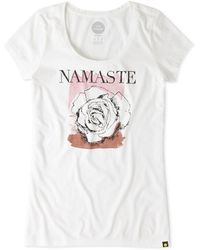 Life Is Good. - Namaste Newbury Tee - Lyst