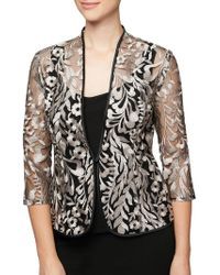 Alex Evenings - Plus Two-piece Embroidered Jacket And Camisole Set - Lyst