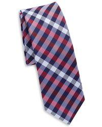 Original Penguin - Silk Plaid Tie - Lyst