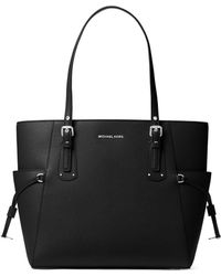 MICHAEL Michael Kors - Voyager Leather Tote - Lyst