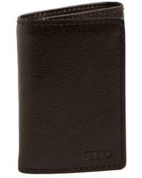Lauren by Ralph Lauren - Tri-fold Leather Wallet - Lyst