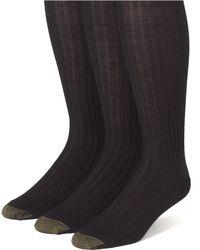 Goldtoe - 3-pack Over Calf Socks - Lyst