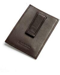 Lauren by Ralph Lauren - Leather Card Case With Money Clip - Lyst
