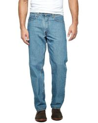 Levi's - 550 Relaxed Fit Medium Stonewash Jeans - Lyst