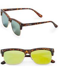 Steve Madden - 51mm Square Sunglasses - Lyst