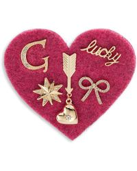 R.j. Graziano - C Initial Tack Pin Set - Lyst