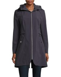 Jessica Simpson - Water Resistant Shell Jacket - Lyst