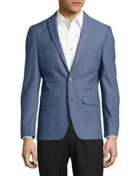 Laboratory Lt Man - Textured Cotton-blend Blazer - Lyst