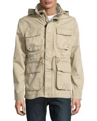 Lucky Brand - Cotton Utility Jacket - Lyst