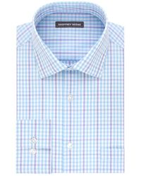 Geoffrey Beene - Straight-fit Cotton-blend Dress Shirt - Lyst