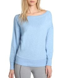 2xist - Drop Shoulder Sweatshirt - Lyst