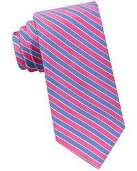 Ted Baker - Stripe Silk-blend Tie - Lyst