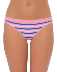 Lord & Taylor - Striped Thong Panty - Lyst