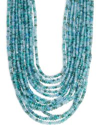 Nanette Lepore - Multi-row Beaded Necklace - Lyst