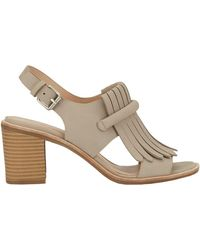 G.H.BASS - Leather Dress Sandals - Lyst