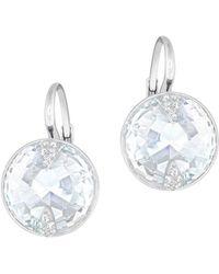 Swarovski - Crystal Globe Earrings - Lyst