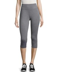 Bench - Cropped Cutout Active Leggings - Lyst