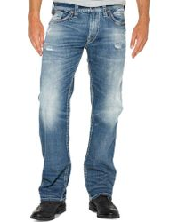 Silver Jeans Co. - Zac Relaxed Fit Straight-leg Jeans - Lyst