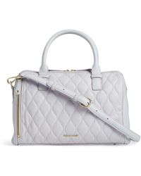 Vera Bradley - Marlo Quilted Leather Satchel - Lyst