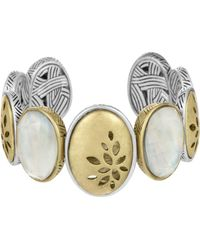 The Sak - Two -tone Pierced Cuff Bracelet - Lyst