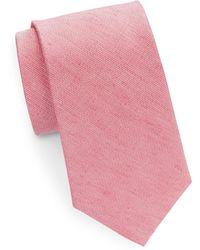 Cole Haan | Classic Silk-linen Tie | Lyst