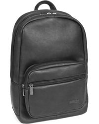 Kenneth Cole Reaction - Colombian Leather Single Gusset Backpack Sling Tablet Case - Lyst