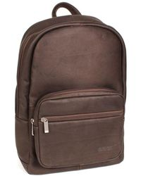 Kenneth Cole Reaction - Columbian Leather Backpack - Lyst