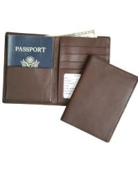 Royce | Handcrafted Rfid Blocking Bi-fold Passport Currency Travel Wallet | Lyst