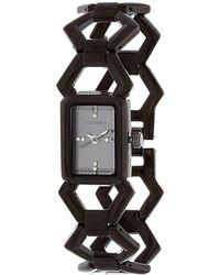 Steve Madden - Geo Link Bracelet Watch - Lyst