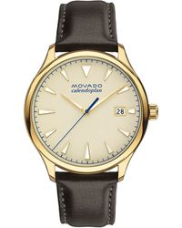 Movado - Heritage Series Calendoplan Analog & Date Watch - Lyst