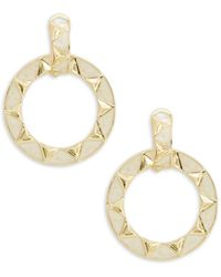 House of Harlow 1960 - Delta Studded Hoops - Lyst