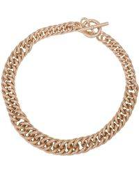 Lauren by Ralph Lauren - 12k Goldplated Curb Chain Necklace - Lyst