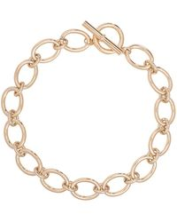 Lauren by Ralph Lauren - 12k Goldplated Brass Oval Link Necklace - Lyst