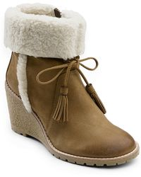 G.H.BASS - Tiffany Sherpa-trimmed Boots - Lyst