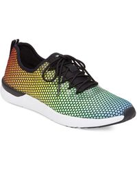 Jessica Simpson - The Warm Up Rainbow Dot Farahh Trainers - Lyst