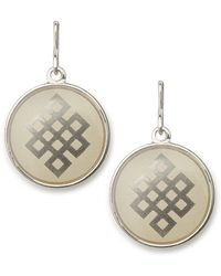 ALEX AND ANI - Endless Knot Necklace Charm - Lyst