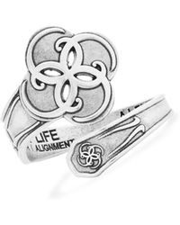 ALEX AND ANI - Breath Of Life Spoon Ring - Lyst